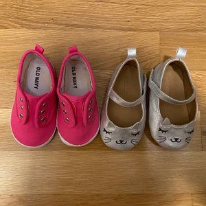 5 for $20!! Toddler Size 12-18 Month Shoe Bundle!